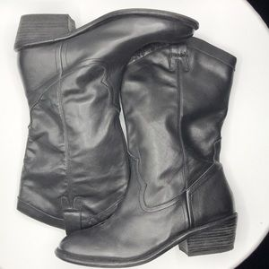 Like New Jessica Simpson Rossana Leather Boots